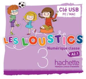 Les Loustics 3 : Manuel numérique enrichi enseignant sur clé USB