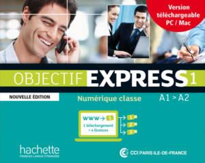 Objectif Express 1 Nouvelle édition : Manuel numérique enrichi enseignant (carte de téléchargement)