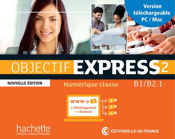 Objectif Express 2 Nouvelle édition : Manuel numérique enrichi enseignant (carte de téléchargement)