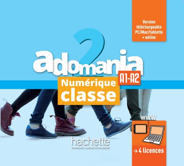Adomania 2 : Manuel numérique classe