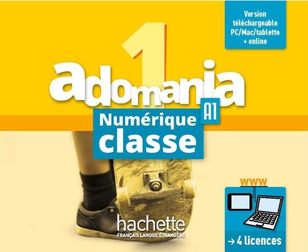 Adomania 1 : Manuel numérique classe