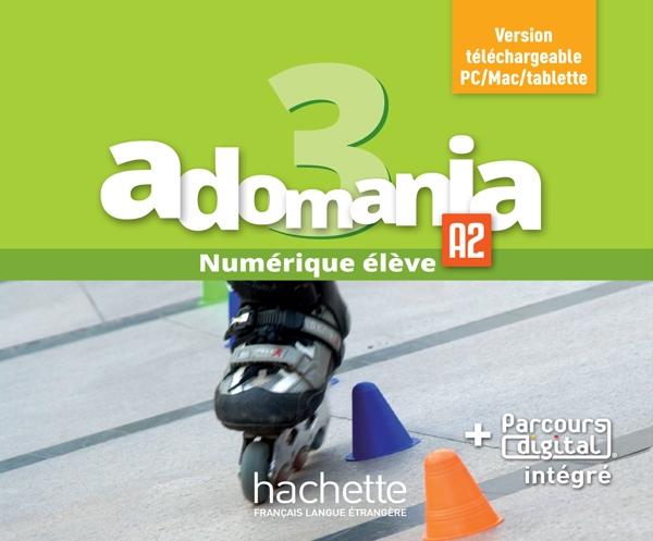 Adomania 3 : Manuel numérique élève (carte)