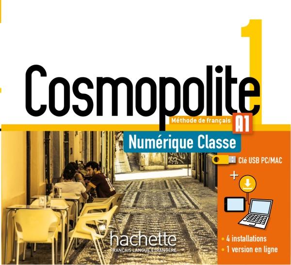 Cosmopolite 1 : Manuel numérique enseignant (clé USB)