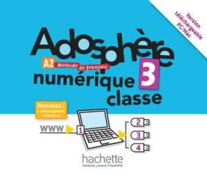 Adosphère 3 - Manuel numérique enrichi pour l'enseignant (carte de téléchargement)