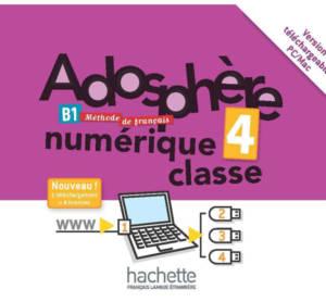 Adosphère 4 - Manuel numérique enrichi pour l'enseignant (carte de téléchargement)