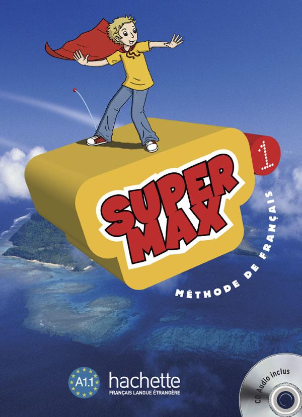 Super Max 1 - Livre de l'élève + CD Audio