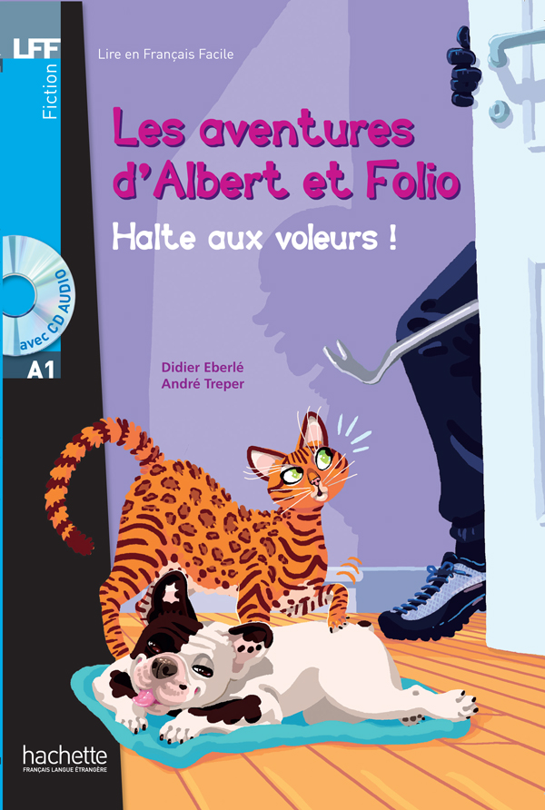 Albert et Folio : Halte aux voleurs ! + CD Audio MP3