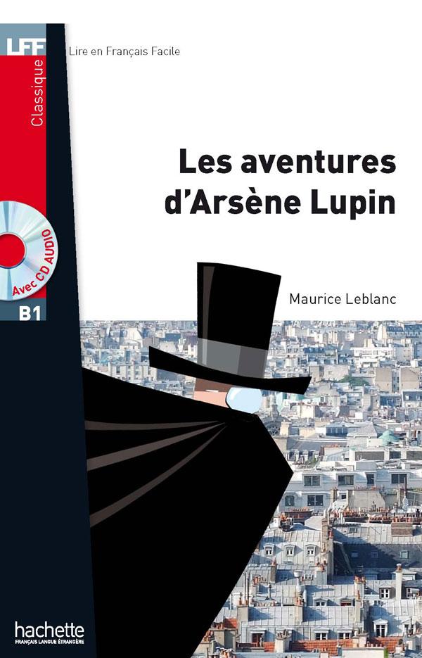 Les Aventures d'Arsène Lupin + CD audio MP3 (B1)