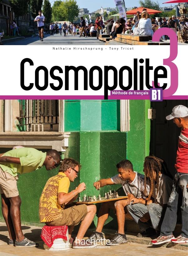 Cosmopolite 3 - Livre de l'élève + DVD-ROM